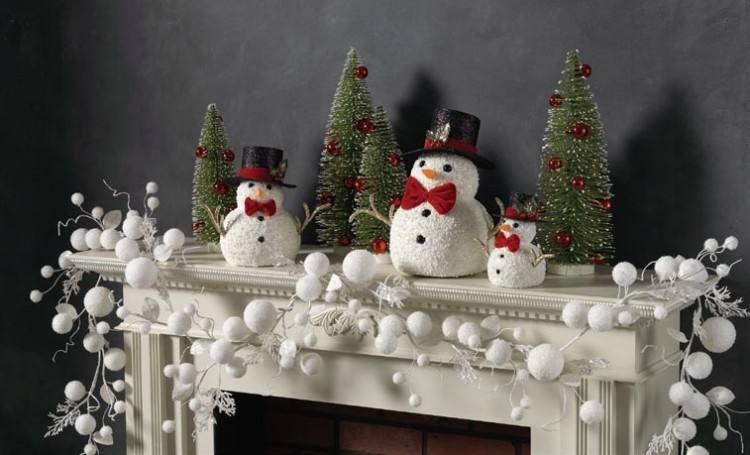 Large Christmas Table Decorating Ideas for 2013