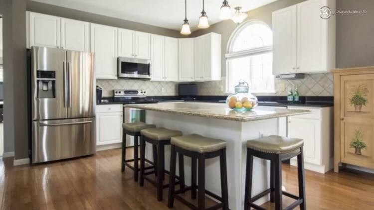Half Wall Ideas Between Kitchen And Living Room Division Between Kitchen  And Living Areas Contemporary Living Room By Design Half Wall Ideas Between  Kitchen
