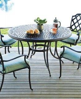 garden design with rocks outdoor patio chair replacement bay table glass  hampton universal round and cover
