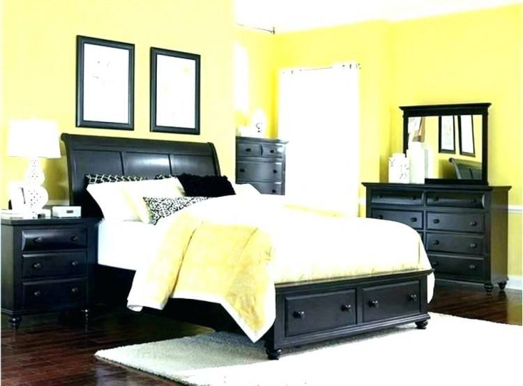 yellow and gray bedroom ideas