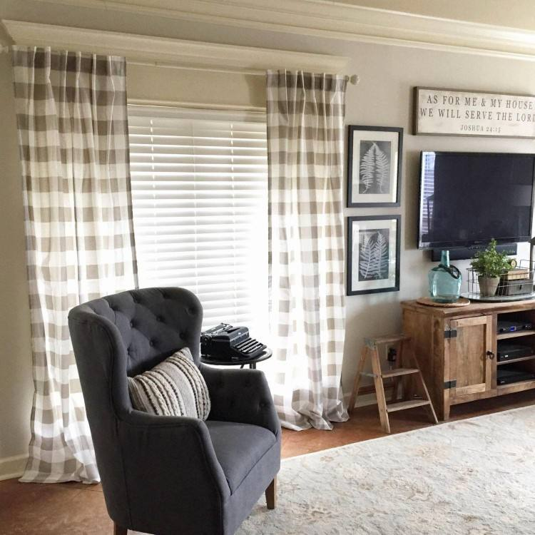 Choosing the  wrong curtain might completely ruin your living room design
