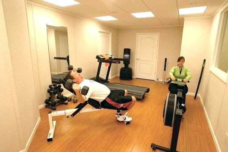 small basement gym ideas in home fabulous about on set for h