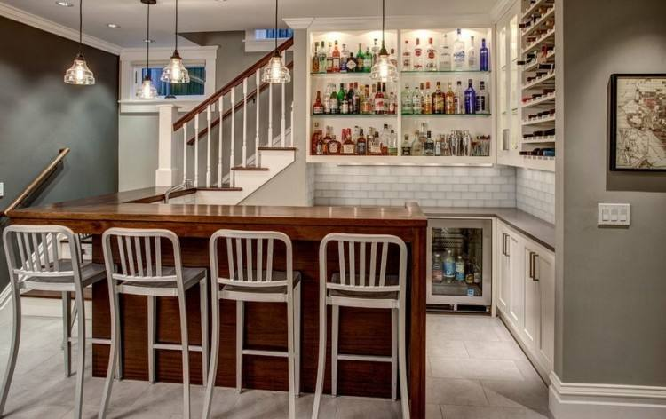 To finish a basement you'll most likely start with framing your walls