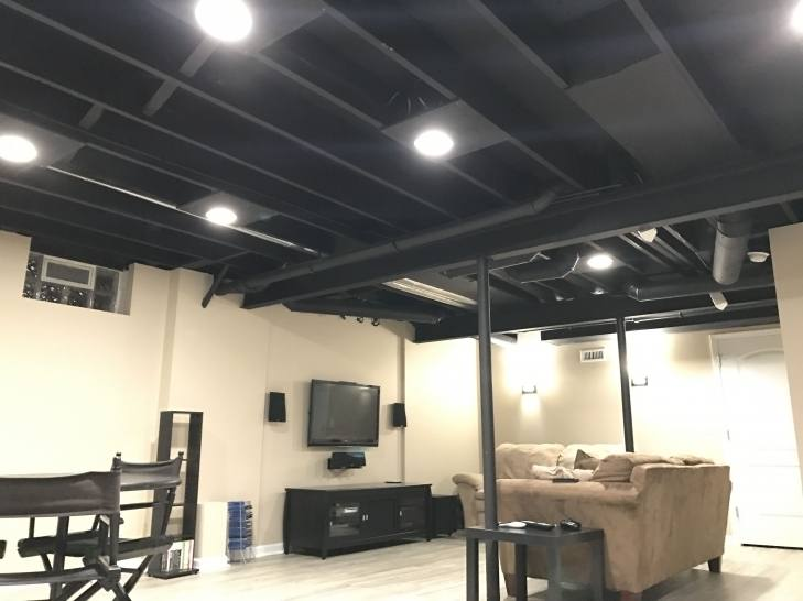 Paint the ductwork in old basements
