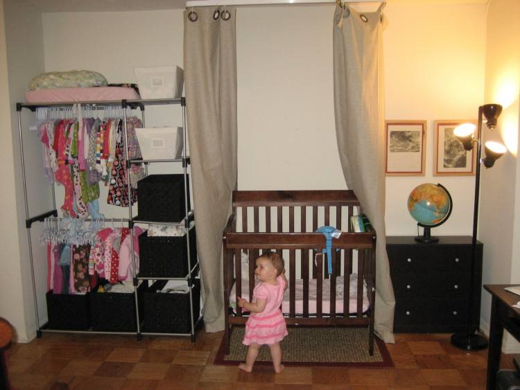 making room for baby in one bedroom apartment