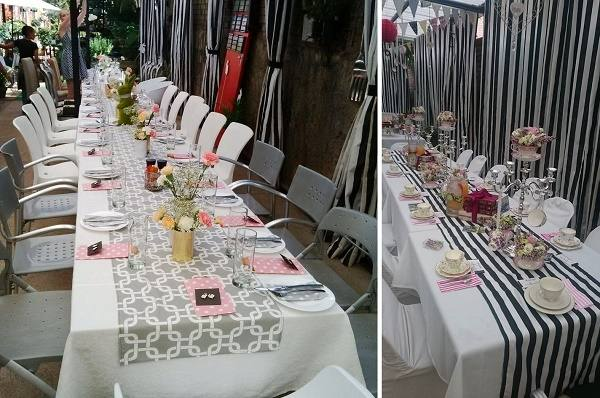 Six different private event and meeting rooms, including an outside patio  area are ideal for retirement parties, surprise birthday parties, bridal  and baby