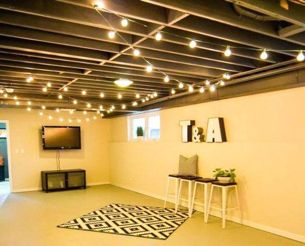 Basement Ceiling Fabric And Photos Of The The Most Affordable Basement  Ceiling Basement Ceiling Ideas
