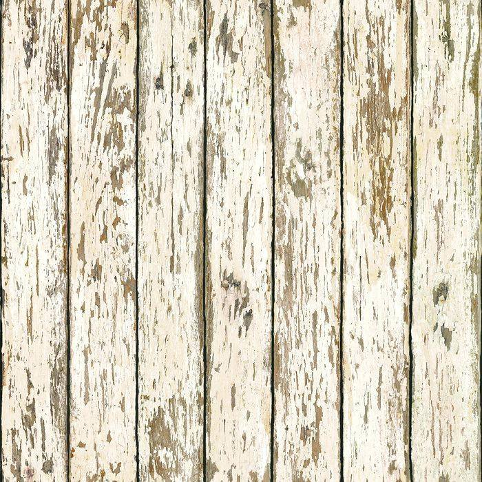 1 Wall Beach Hut Wood Planks Photo Giant Poster 3