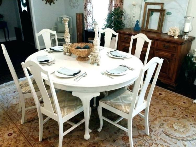 Stylish Repainted Long Square Wooden White Base Gray Dining Table  Pertaining To African Kitchen Model