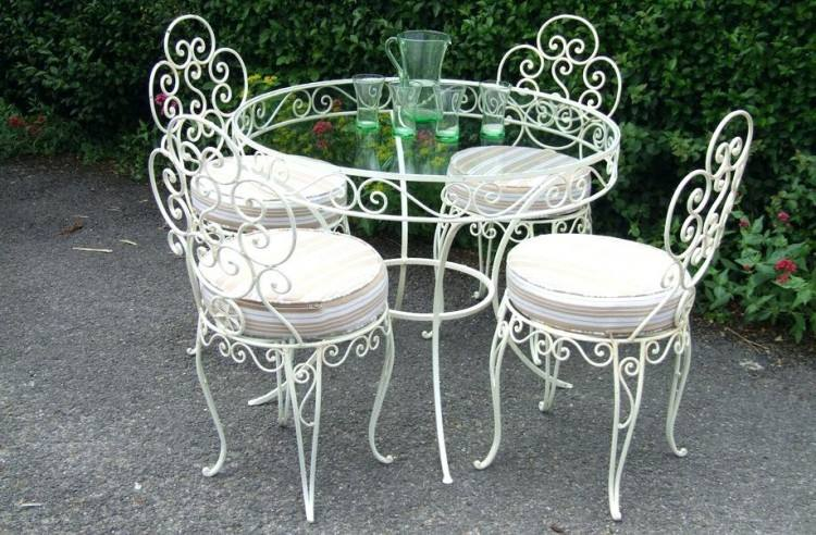 How To Repaint Wraught Iron Patio Furniture