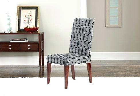 Short Dining Chair Covers Sure Fit Dining Chair Covers Sure Fit Stretch  Pique Dining Chair Slipcover Sure Fit Stretch Pique Short Dining Room Chair