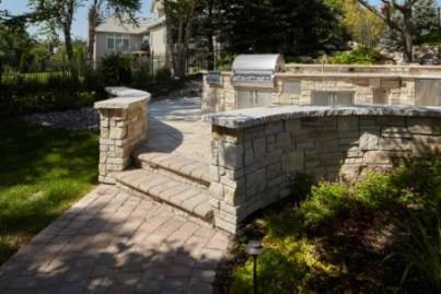 Outdoor Living Areas, Fire Pits and Walkways