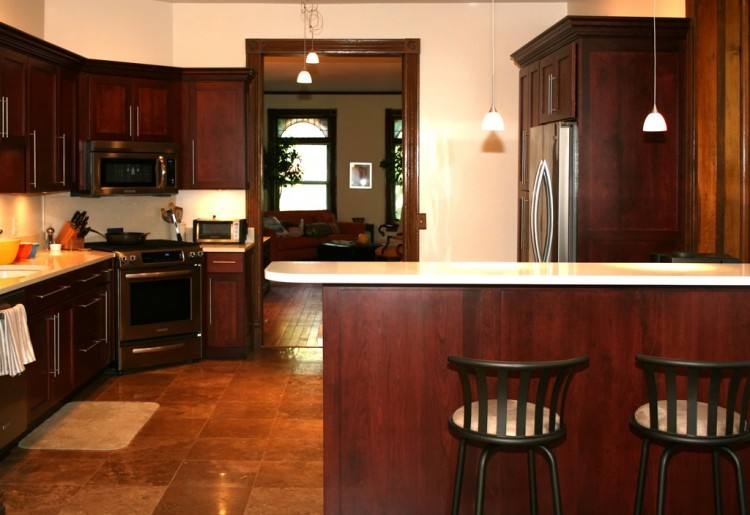 Full Size of Kitchen Cherry Wood Cabinets With Hardwood Floors Cherry Wood Kitchen  Ideas Cherry Cabinets