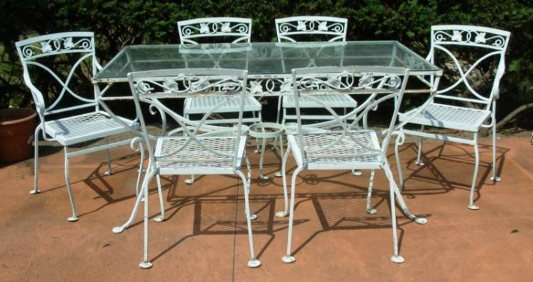 wrought iron pool furniture wrought iron patio furniture cleaning  instruction exist decor cast wrought iron outdoor