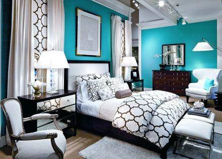 teal color bedroom ideas