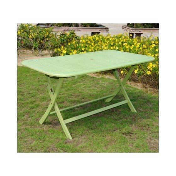 Metal Mint Green Folding Patio Dining Chair, Set of 2, 37