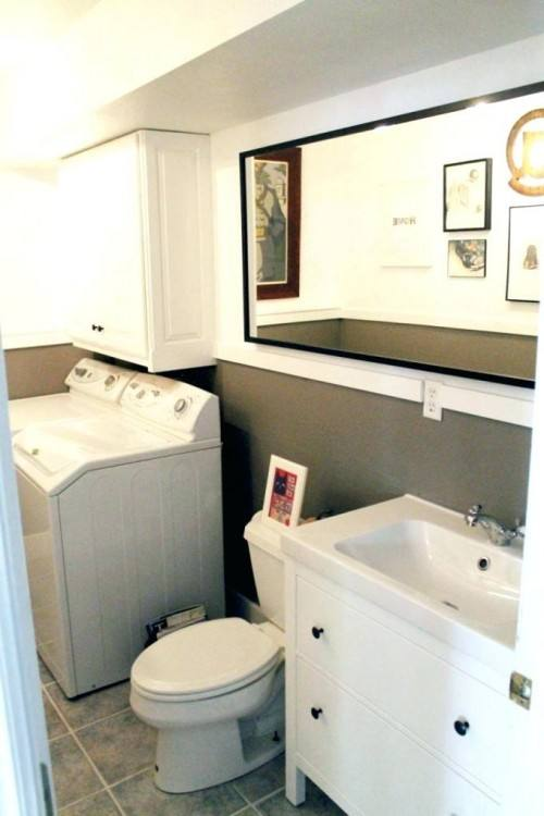 master bathroom laundry combo contemporary with cabinetry and combination  designs room ideas floor plans
