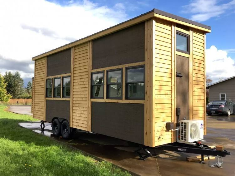 inside luxury tiny house
