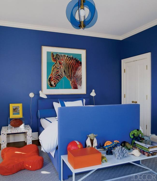 12 Boy's bedroom ideas to inspire your decor via lilblueboo