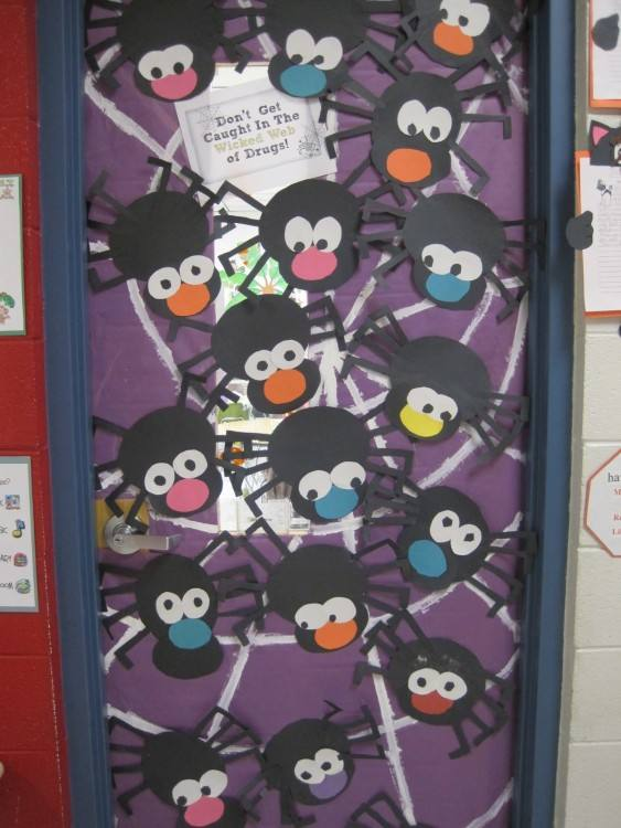 Full Size of Bulletin Board Ideas For Red Ribbon Week Drug Free Classroom Door  Decorations Interior