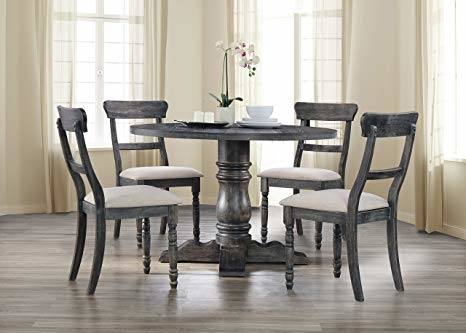 Godeleine Weathered Gray Oak Dining Room Set Media Gallery 1