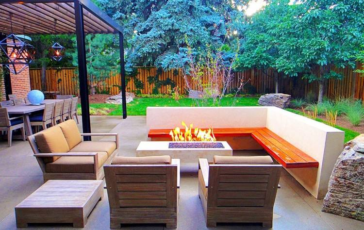 Rainbow Pillow Outdoor Living Space
