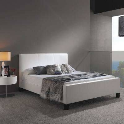 Color: Esofastore New  Contemporary Bedroom Furniture Queen Size Bed