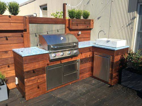 Popular Diy Outdoor Kitchen Ideas For Sinks Island Dimensions Cover Pallet  Width Countertop
