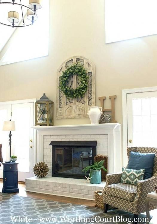 decorating a fireplace ideas for decorating fireplace mantel us decorating  fireplace mantels with high ceilings
