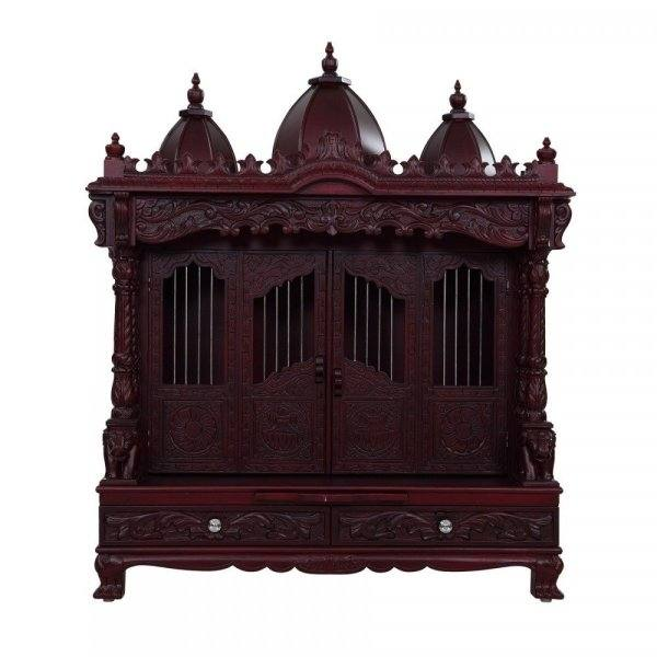 Full Size of Small Pooja Mandir For Home Wooden Designs Online Northeast  Room Temple Improvement Enchanting