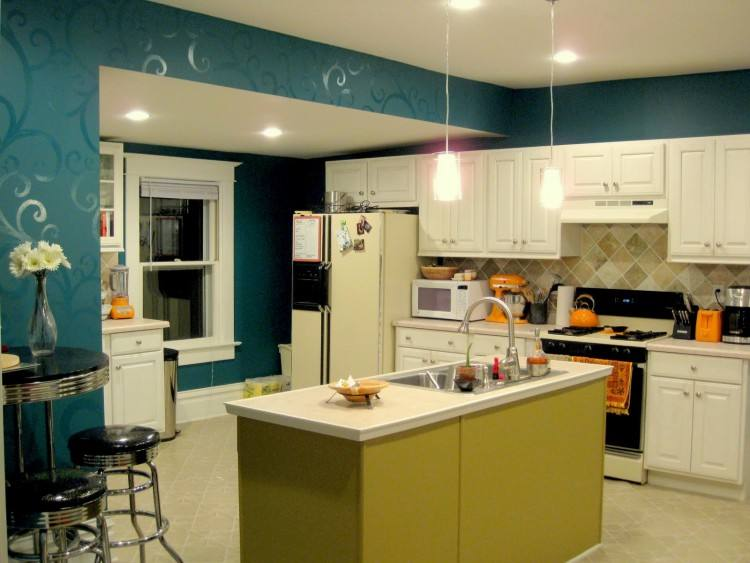 Chic Modern Kitchen Paint Colors Ideas Modern Kitchen Paint Colors Ideas  Decor Ideasdecor Ideas