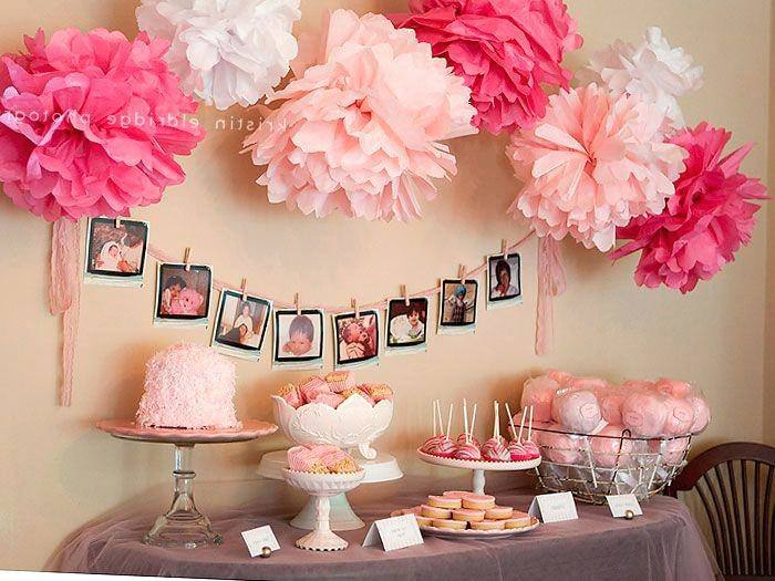 Pastel Pink Baby Shower Candy Buffet Ideas, Baby Girl Birthday Party  Decorations, Party Dessert Table Decor Ideas www