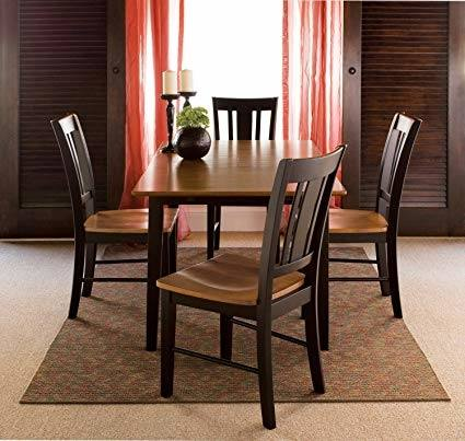 Solid Wood legs High grade MDF with solid wood veneer Removable end leaves  expands Pair with our matching dining chairs and bench Ships ready to  assemble