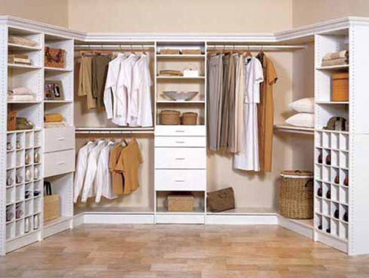 If you add stacked hanging rods to your closet, one rod will usually be  higher than arm's reach, which can create accessibility problems