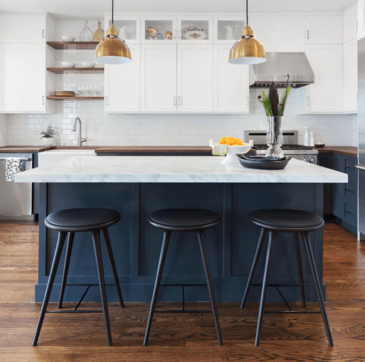 Full Size of Kitchen:45 Charming Navy Blue Kitchen Ideas Navy Blue Kitchen  Accents Navy
