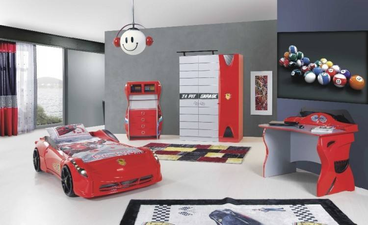 Kids Furniture, Car Bedroom Set Corvette Bed Craighlist With Cupbaord  And Decoation Car: Astonishing