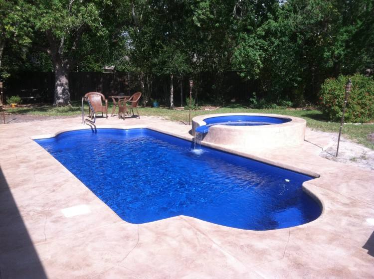 Monaco Rectangular Inground Fiberglass Pool 1O