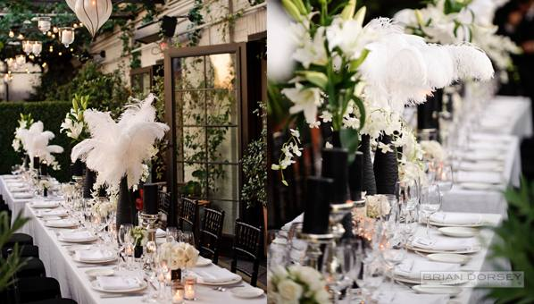 Centerpieces don't always need flowers