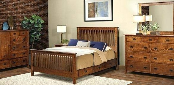 Full Size of Bathroom Delightful Mission Style Bedroom Set W2046 Mahogany  Storage Bed Kal Rm 5