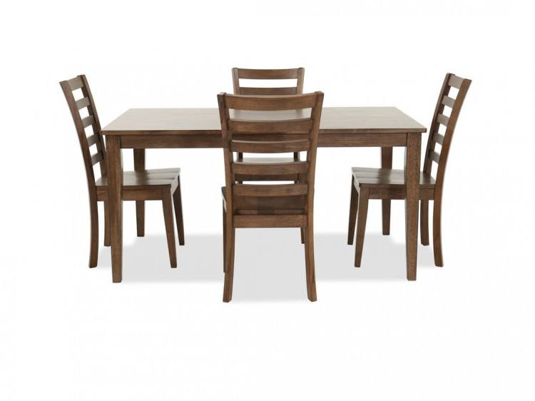 Casual Dining Room Sets Meridian Set In Rich Gold Tables With Casual  Dining Room