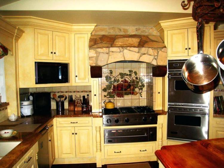 images of kitchen backsplashes | Gorgeous tuscan kitchen backsplash design