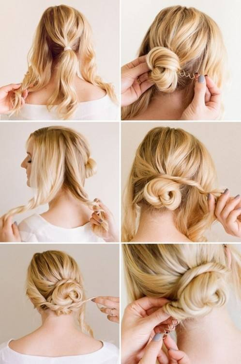 EJY Flower Hair Bun Maker Hair Styling Tools Magic Simple Fast Spiral Hair  Design Styling Tools