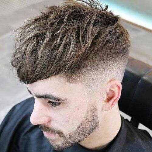 Make a simple high  fade and leave