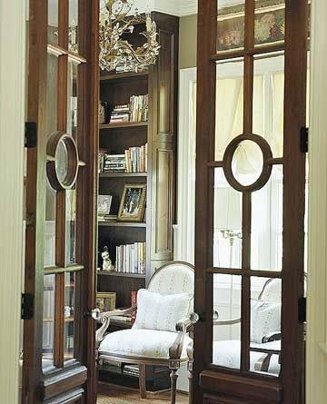 glass home office doors