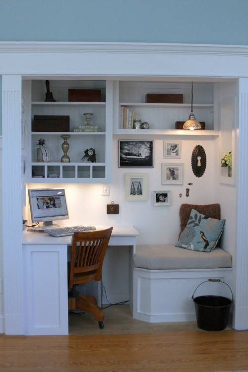 Office Closet Design Ideas Brilliant Closet Office That Small Underused  Space Under The Closet Office Closet Home Office Design Ideas Home Office  Closet