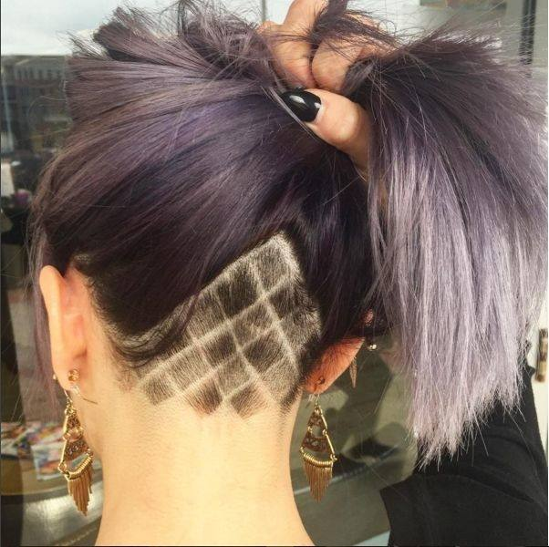 Shaved Hair Designs for Women, Have you seen the latest trend of undercut hair  designs for women? For ladies who like bringing something new and different