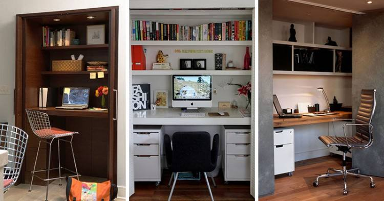 closet home office design