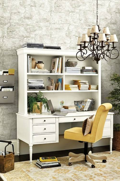 4 Easy Home Office Feature Wall Wallpapers for an Unexpected Look! This is  all about Get on board with this trend in your office space for a  motivating and