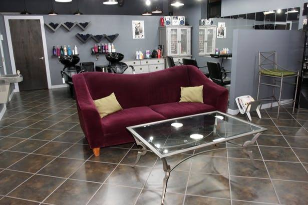 Trim & Colour Hair Studio is a fresh take on a modern salon with relaxing  and comfortable vibes