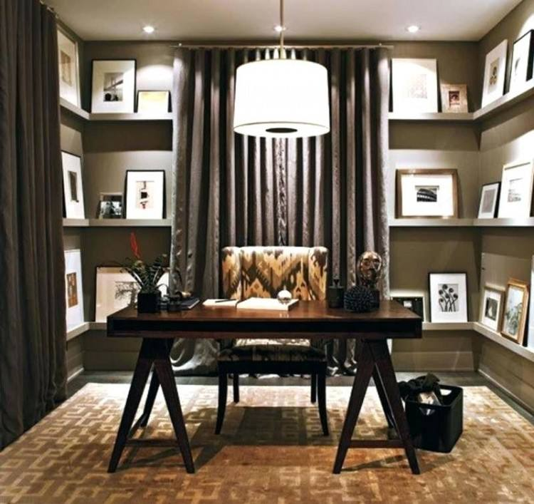 view in gallery classic and  simple home office design